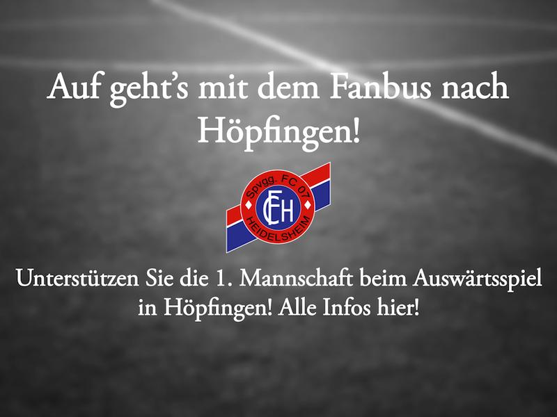 Fanbus nach Höpfingen!