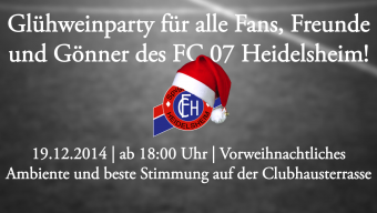 fc 07 heidelsheim   glühweinparty