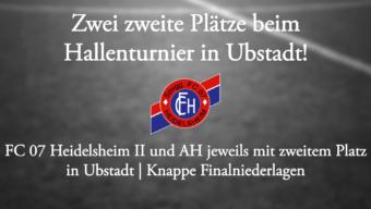 Zwei zweite Plätze in Ubstadt!