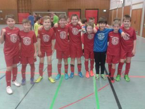 E-Junioren Siegerfoto FC 07 Heidelsheim