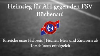 AH schlägt FSV Büchenau!