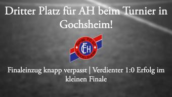 Dritter Platz für AH in Gochsheim!