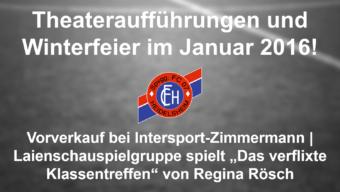 Theatergruppe des FC 07 Heidelsheim geht in die 31. Runde!