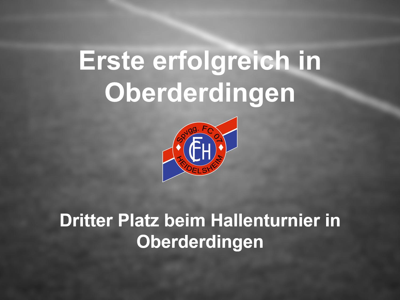 3. Platz für den FC 07 Heidelsheim beim 17. Andreas-Knapp-Gedächtnisturnier des SV Oberderdingen