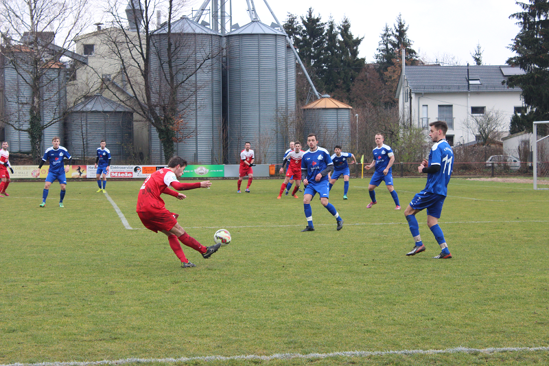 Heidelsheimer mühen sich im ersten Spiel des neuen Jahres zum Sieg!