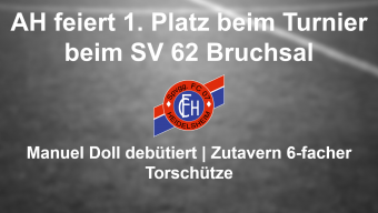FC 07 AH Turniersieger beim Kleinfeldturnier des SV 62 Bruchsal