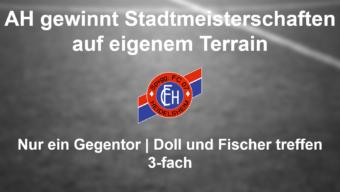 FC Heidelsheim AH verteidigt den Freiluft – Stadtmeistertitel 2016 beim eigenen Sportfest