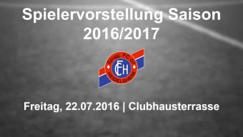 Offizielle Saisoneröffnungsfeier 2016/17 mit Vorstellung der neuen Spieler auf der Clubhausterrasse am Freitag, 22.07.2016, 20.00 Uhr