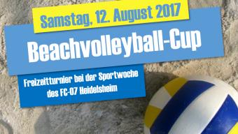 Sportwoche: Beachvolleyball-Cup
