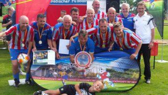 FC 07 Heidelsheim AH Badischer Ü50 Fußballmeister 2018!