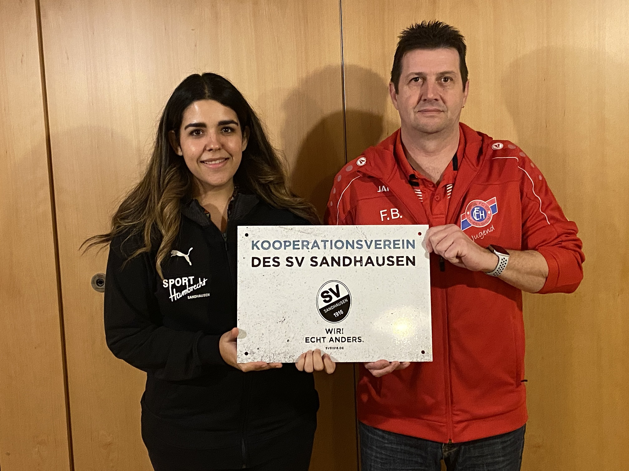 Kooperation mit dem SV Sandhausen!