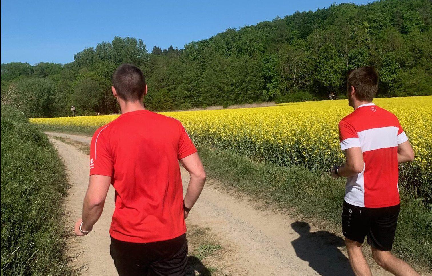 Staffellauf unserer zweiten Mannschaft!