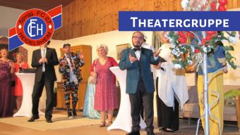 """Theatergruppe des FC 07 Heidelsheim spielt """"Kaviar und Hasenbraten!"""""""