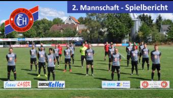 2. Mannschaft steht in der 2. Kreispokalrunde!