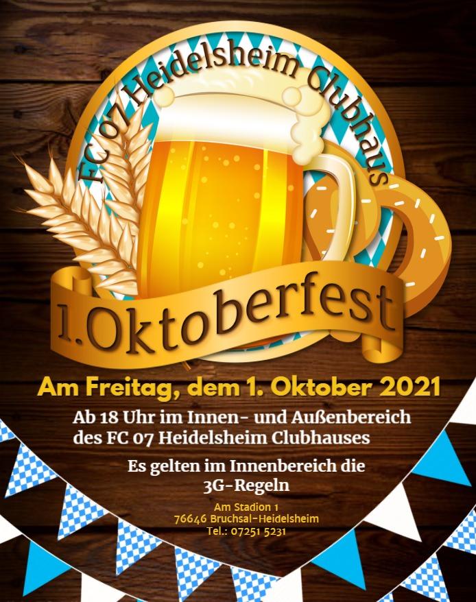 Oktoberfest im FC-07 Clubhaus!